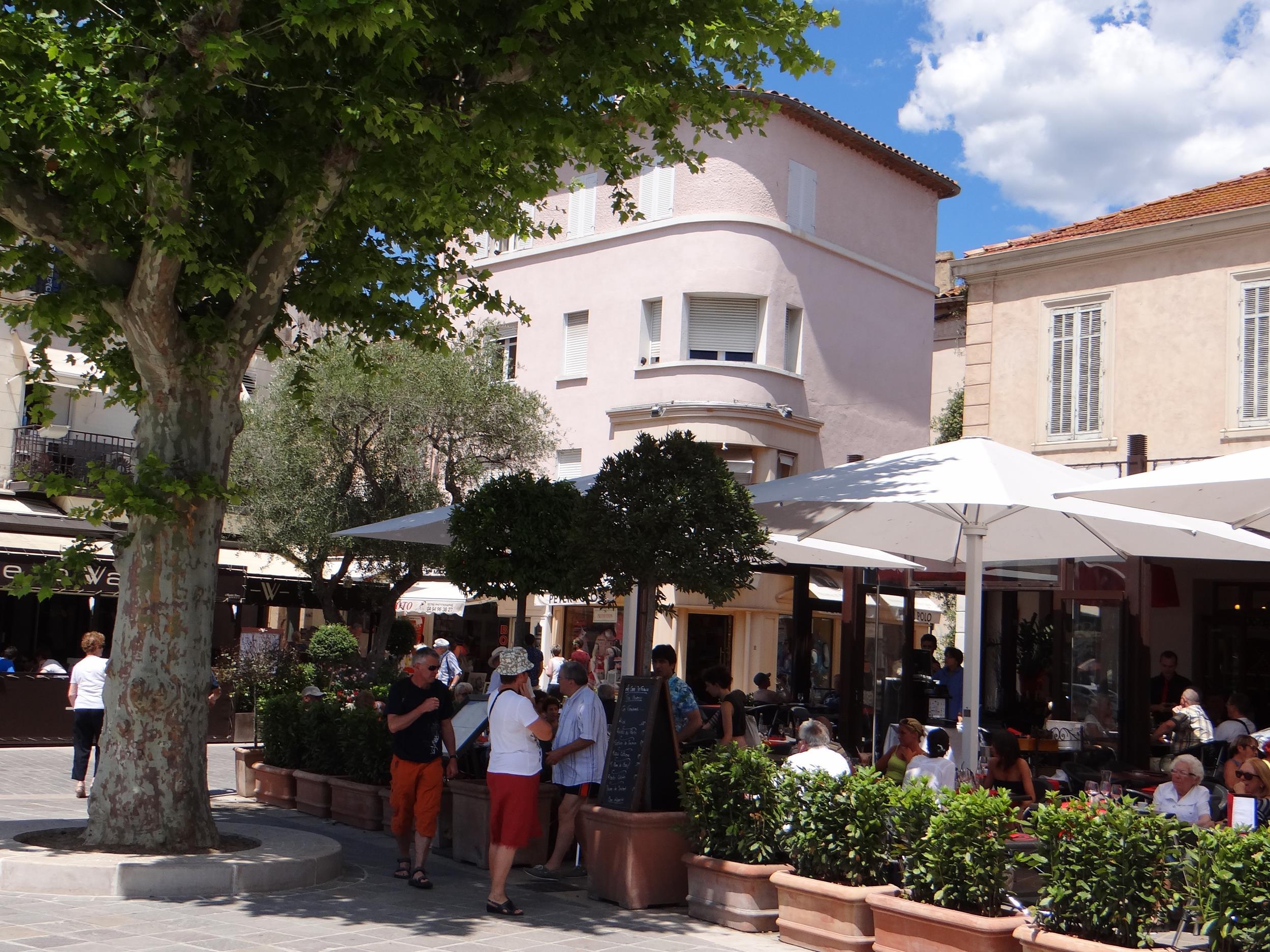 Sainte maxime bucht von saint tropez c te d 39 azur - Cafe de france sainte maxime ...